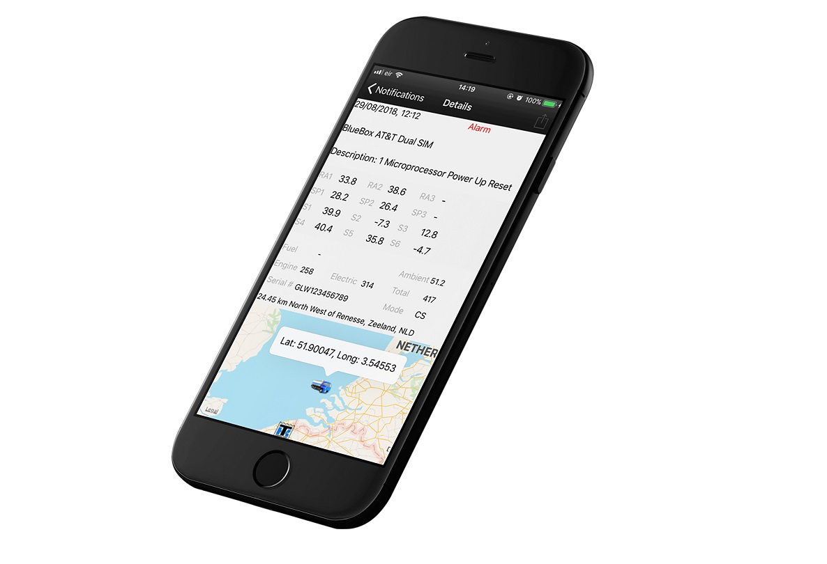 TK Notify app gives users context to reefer alerts.