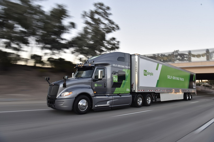 TuSimple is increasing the number of fully-autonomous trucks from 11 to 40, running daily routes in Arizona. 