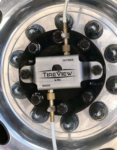 TireView can be used with a Flow Thru Kit that provides simple solutions to sensor management challenges. -