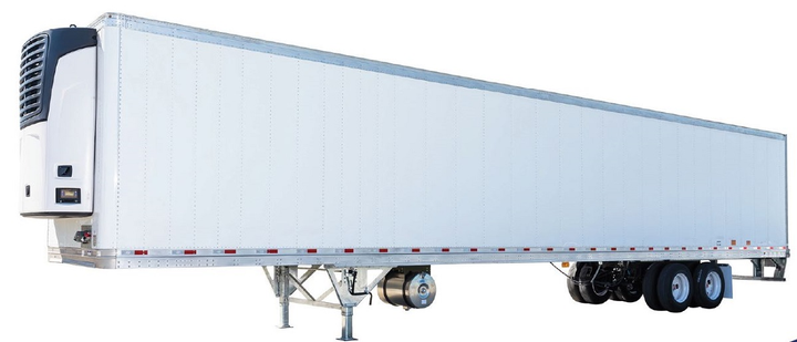 The redesigned HT ThermoTech refrigerated trailer was designed for greater durability, increased thermal efficiency and lighter weight.
