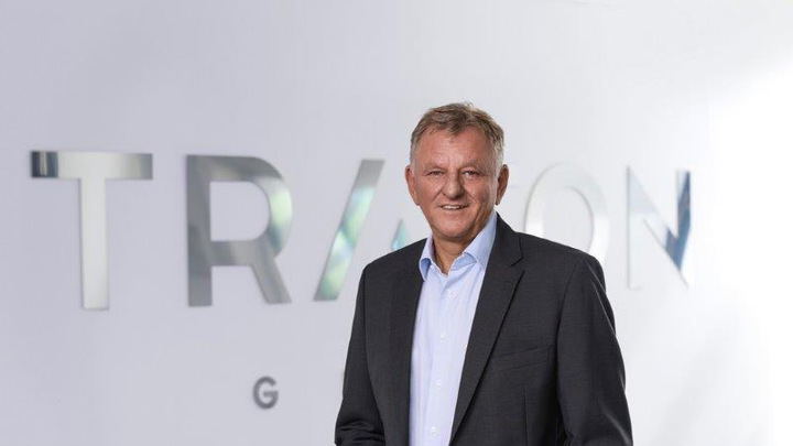 """Traton's Andreas Renschler: """"Our entire team did a good job in the first nine months.""""  - Photo: Traton AG"""