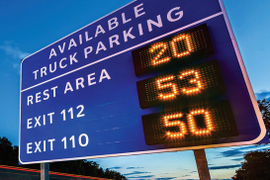 Group Seeks Funding for Truck Parking System on Interstate 10