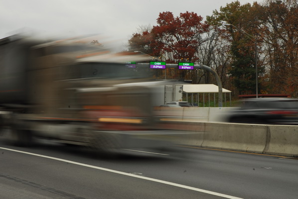 Rhode Island's success with an electronic truck tolls on several highways has inspired the state's newly elected governor, Ned Lamont, and Democrat majorities in the Connecticut House and Senate to specifically target trucks as a revenue source.    - Photo: Jim Park