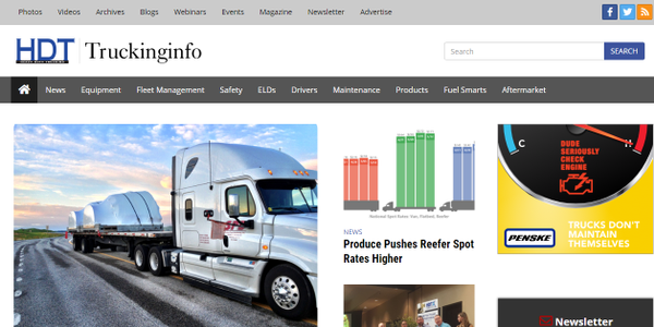Truckinginfo.com has been redesigned from the ground up, offering fleet users a cleaner, more...