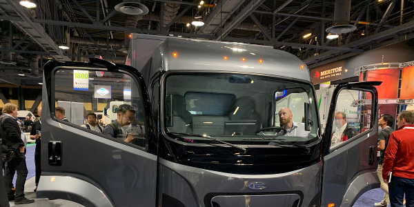 The CF1 electric Class 4 truck was taken fromd design to prototype in just 10 months, according...
