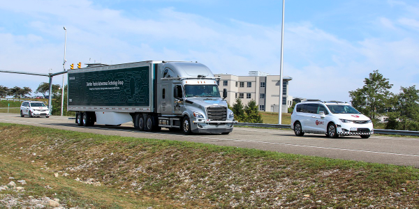 Daimler Trucks and Torc Robotics are actively developing and testing automated trucks with SAE...