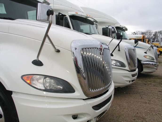Used Class 8 same dealers sales were down 10% in June and prices remained essentially flat, but this used truck dealers say that at current levels, sales and prices are still strong.  - Photo: Evan Lockridge
