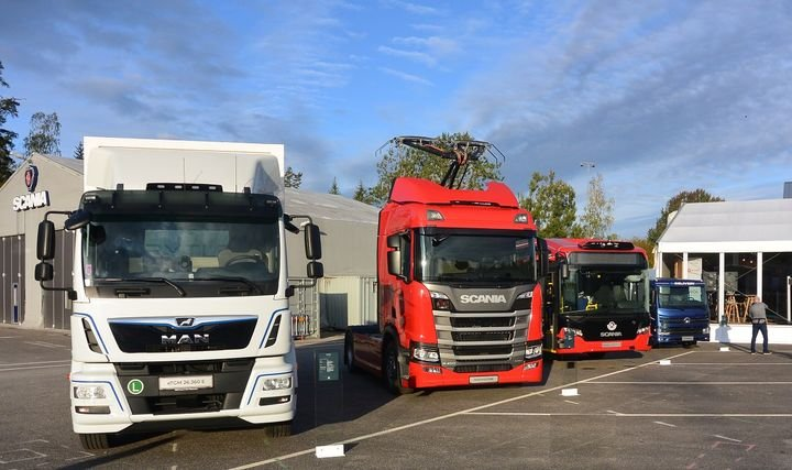 Traton plans to spend $1 billion on electro mobility. Over the next 10-15 years, one third of Traton's truck and bus deliveries will be equipped with alternative power trains and most of them fully electric.  - Photo:Sven-Erik Lindstrand