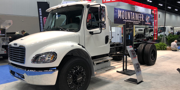 Freightliner Custom Chassis Corporation has added new powertrain options for its chassis lineup...