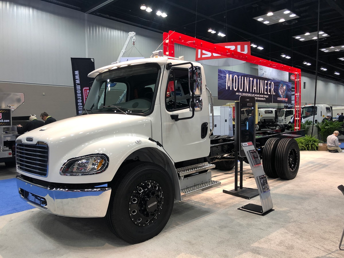 Freightliner Custom Chassis Corporation has added new powertrain options for its chassis lineup including new propane, compressed natural gas and traditional diesel engines.