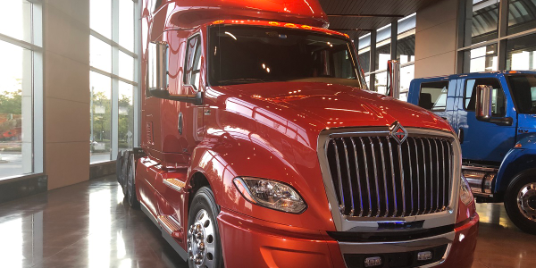 Navistar's plan, unveiled to investors at its Lisle, Illinois, headquarters (shown), includes...