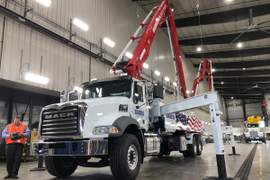 Mack Trucks Forecast Buoyed by Strong Construction Sector