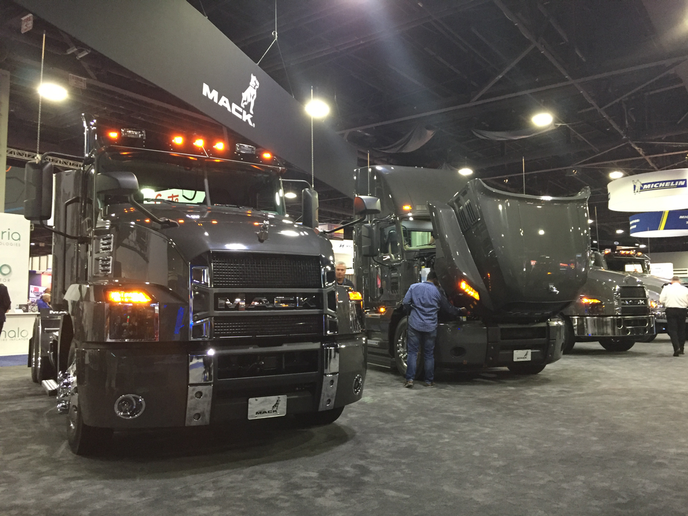 The North American Commercial Vehicle Show has partnered with ATA to host a symposium at this year's event, offering educational and benchmarking sessions to attendees.  - Photo: Deborah Lockridge