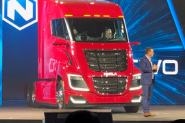 Nikola Unveils Nikola Two Hydrogen-Electric Hybrid Truck