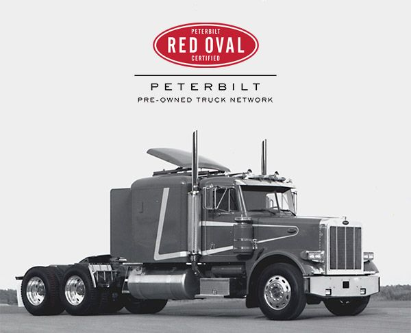 Peterbilt has expanded its 90-day Vehicle Assurance Warranty to cover all Peterbilt Red Oval Certified trucks.  - Photo via Peterbilt