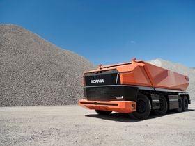 Scania Showcases Cab-less Concept Autonomous Truck