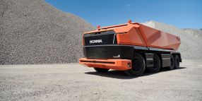 Scania Showcases Cab-less Concept Autonomous Truck