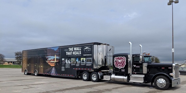 The VVMF and TCA needs drivers and trucking companies to volunteer to haul the mobile replica...