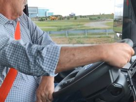 On the Spot: Volvo Truck's Dynamic Steering [Video]