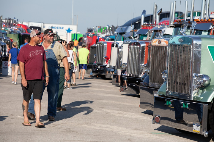 Iowa 80 Truckstop's 40th Annual Walcott Truckers Jamboree is set to kick off on July 11th with three straight days of trucking events, exhibitions, and entertainment.  - Photo courtesy Iowa 80 Truckstop