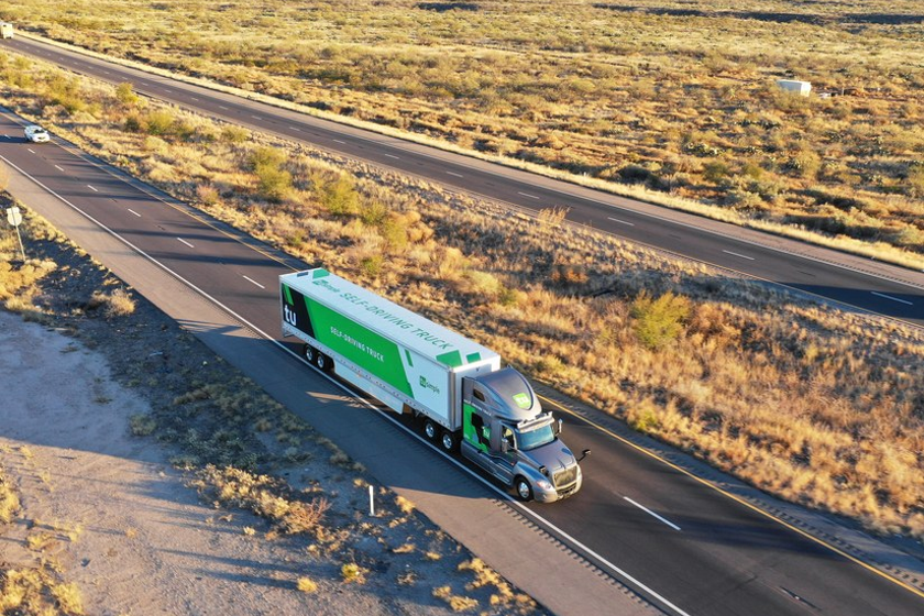 UPS and TuSimple are working together to evaluate the potential for autonomous trucks in parcel...