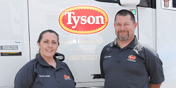 Tyson Foods has increased pay for its long-haul drivers to improve recruiting and...