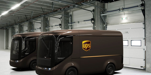 UPS says it will deploy 35 electric delivery vehilcles in London and Paris. Image: UPS