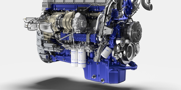 Volvo says its next generation turbo compound engine from  provides up to an additional 3%...