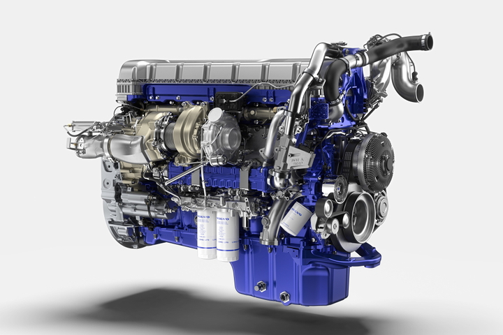 Volvo says its next generation turbo compound engine from  provides up to an additional 3% improvement in fuel efficiency over its current 13-liter turbo compound engine.
