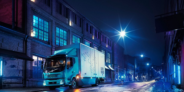 Volvo's new FL Electric Truck is designed for refuse collection and other urban...