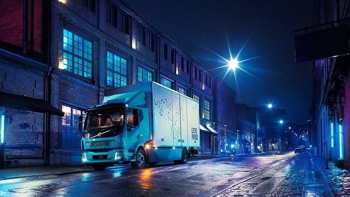 Volvo's new FL Electric Truck is designed for refuse collection and other urban applications. Photo: Volvo