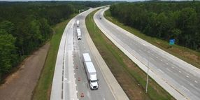 Volvo Trucks, FedEx Demonstrate Truck Platooning in North Carolina