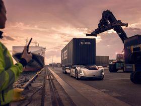 Volvo's Vera Autonomous Vehicle Goes to Work in Swedish Port