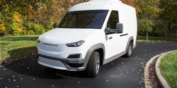 Workhorse launched production of its new lightweight battery-electric delivery truck, Workhorse...