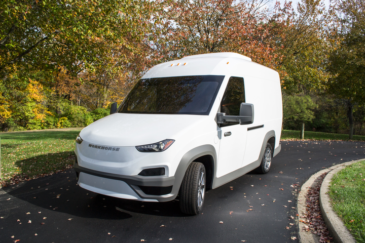 Workhorse has launched production of its lightweight battery-electric delivery truck