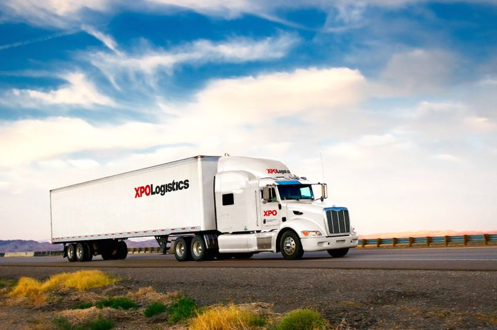 XPO Plans to invest $90 million this year in new trucks for its LTL fleet, spec'd with larger engines and the latest safety equipment.  - Photo courtesy XPO Logistics