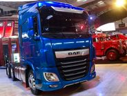 Netherlands-based DAF Trucks is a sister company of both Peterbilt and Kenworth-- whose booth...