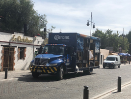 Delivery vehicles in Mexico run a wide gamut, from beer trucks akin to those in the U.S. to...