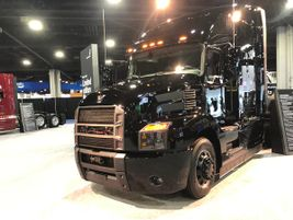Mack goes Back in Back with this limited edition blacked-out Anthem tractor. Only 500 will be built.