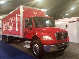 Fittingly enough, as Atlanta is Coca-Cola's hometown, Great Dane has this straight-truck body on...