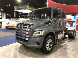 Hino is showing off a bolder, brawnier, new look for its trucks — along with a host of new...