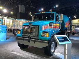 This retro-styled Western Star evoked the marque's 1970s styling.