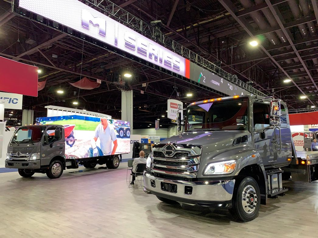 Hino announced a revamp of its medium duty lines, with new names, new exterior and interior...