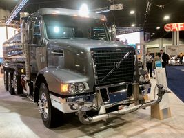 So far, several truck makers at NACV have indicated they are bullish on vocational sales this...
