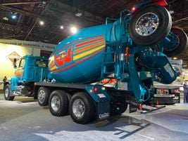 Western Star showed off its vocational trucks and hinted of a new generation on the way.