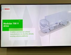 Bosch also highlighted its modular e-drive.