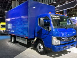 The Fuso eCanter is already in use by the likes of J.B. Hunt, Penske Truck Leasing, and A. Duie...