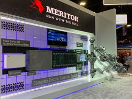 Meritor, for instance, expanded its Blue Horizons portfolio of e-drive products with the...