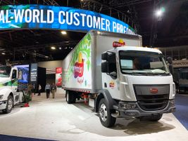Peterbilt said by the end of 2020, it will have three battery-electric truck models available...