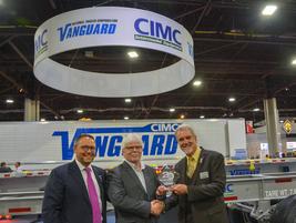 Trevor Ash, VP Sales/Marketing/Dealer Development, and Frank Sonzala, CEO and President, CIMC...